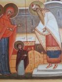 intrarea maicii domnului in Biserica detaliu. toma gabriel chituc. viena